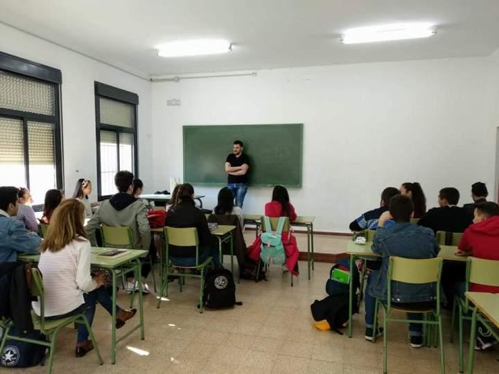 Resumen de mis cuatro charlas en los dos institutos de LaSolana